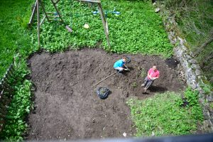 Creating the alpine kitchen garden
